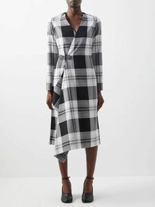 By Walid - Hazy-jungle Print Cotton-canvas Jacket - Womens - Beige Print