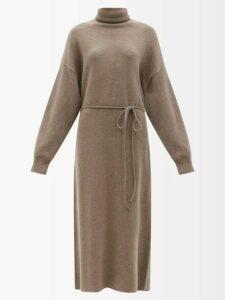 Acne Studios - Face Cotton Jersey Sweater - Womens - Grey