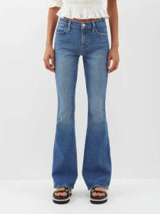 Hillier Bartley - Covered Button Silk Blouse - Womens - Cream Multi