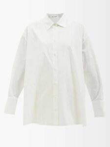 Golden Goose - Kick Flare Cropped Jeans - Womens - Red