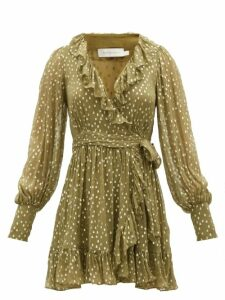 Moncler - Quilted Down Gilet - Womens - Light Pink