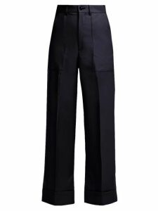 Toga - Wool Trousers - Womens - Navy