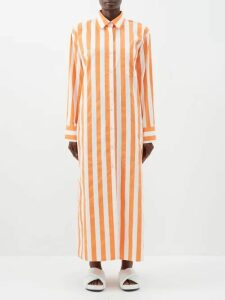 Raey - Displaced-sleeve Round-neck Wool Sweater - Womens - Black