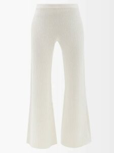 Bella Freud - 1970-intarsia Metallic Sweater - Womens - Gold
