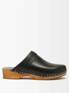 Isa Arfen - Off-the-shoulder Ruched Cotton Top - Womens - Black
