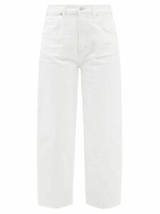 Valentino - Pleated Silk Blouse - Womens - Red