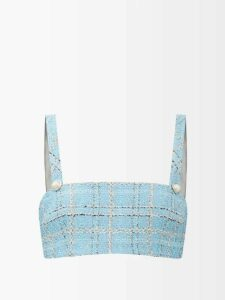 Roksanda - Keru High-neck Wool Sweater - Womens - Beige