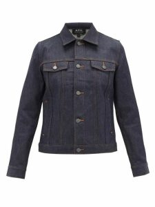 A.p.c. - Brandy Denim Jacket - Womens - Indigo