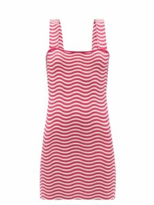 Raey - Long Line Fine Knit Cashmere Sweater - Womens - Black