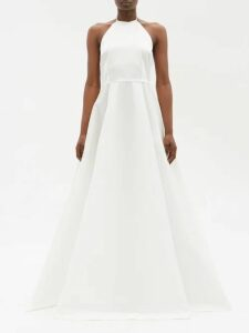 Raey - V-neck Fine-knit Cashmere Sweater - Womens - Nude