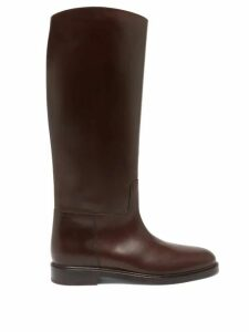 Galvan - Tiered-sleeve Crepe-back Satin Top - Womens - Silver