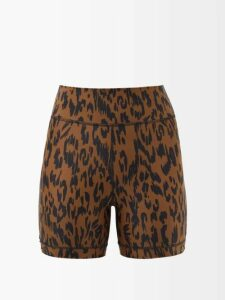 Isabel Marant - Lickly Geometric Print Mini Skirt - Womens - Cream Print