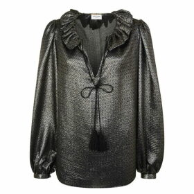 Saint Laurent Sleeve Blouse
