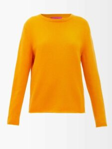 Vetements - Ruffle Trimmed Polka Dot Silk Hooded Blouse - Womens - Navy Multi