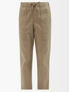 Hillier Bartley - Fringe-trimmed Silk-satin Blouse - Womens - Pink