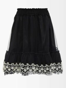 Chloé - Mandarin Collar Patch Pocket Blouse - Womens - Cream