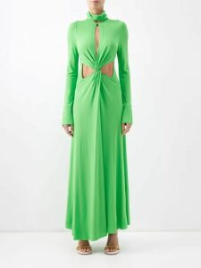 Gucci - Crew Neck Cotton Sweatshirt - Womens - Ivory