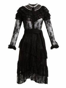 Dodo Bar Or - Monabella Floral Lace Dress - Womens - Black