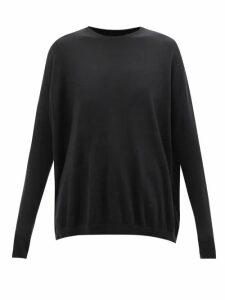 Dodo Bar Or - Roberta Embellished Floral Print Chiffon Dress - Womens - Black Red