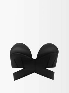 Chufy - Embroidered Silk Kimono-style Jacket - Womens - Navy