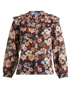 M.i.h Jeans - Hayden Floral-print Cotton Blouse - Womens - Multi