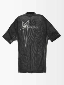REDValentino - High-rise Straight-leg Crepe Trousers - Womens - Black
