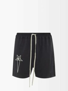 Redvalentino - High Neck Cotton Sweater - Womens - Red
