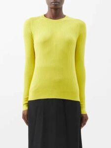 Fendi - Bambolina Wool-blend Dress - Womens - Black