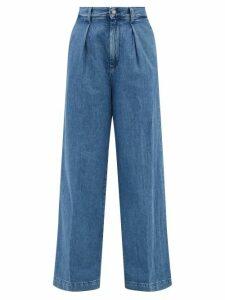 Roksanda - Houma Silk Dress - Womens - Pink