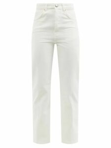 Valentino - Leopard And Tiger-print Silk Blouse - Womens - Red Print