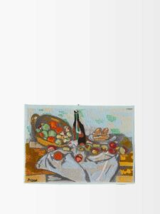 Giuliva Heritage Collection - Aida Wool And Silk-blend Midi Dress - Womens - Pink
