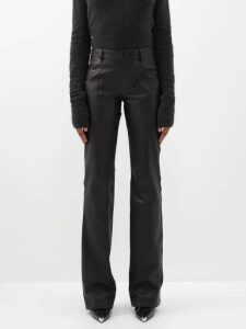 Joseph - Leigh Striped Silk Blouse - Womens - Red Stripe