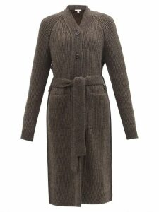 Saint Laurent - Firework-jacquard Lamé Blouse - Womens - Black Gold