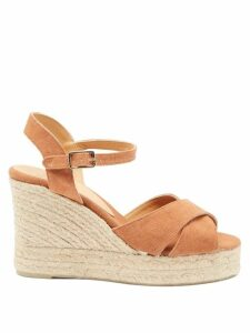 Craig Green - Crochet Panelled Cotton Sweater - Womens - Blue Multi