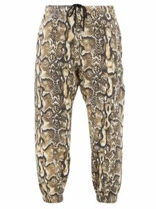 Proenza Schouler - Wool Blend Round Neck Curved Hem Sweater - Womens - Ivory