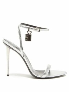 Preen By Thornton Bregazzi - Clemence Floral And Snake-print Satin Devoré Skirt - Womens - Multi