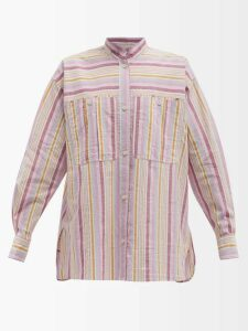 Ellery - Salvador Neck Tie Crepe Blouse - Womens - Black