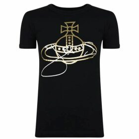 Vivienne Westwood Anglomania Foil Orb T Shirt