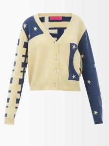 Koché - Ruffled Silk Georgette Blouse - Womens - Cream