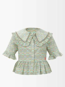 Undercover - Straight Leg Cashmere Trousers - Womens - Light Grey