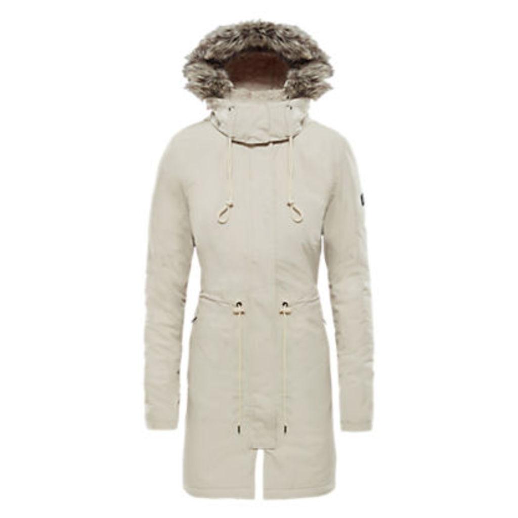 The North Face Zaneck Women's Waterproof Jacket, Peyote Beige