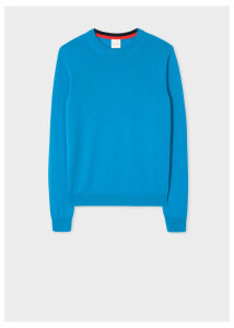 Women's Blue Cashmere Sweater