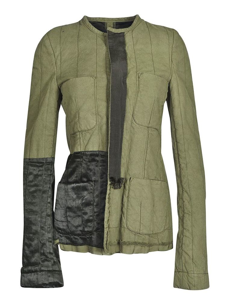 Haider Ackermann Quilted Contrast Jacket
