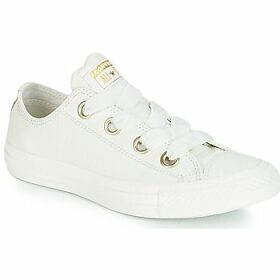 Converse  ALL STAR BIG EYELETS OX  women's Shoes (Trainers) in White