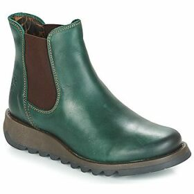 Fly London  SALV  women's Mid Boots in Green