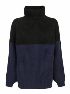 Rochas Color Block Sweater