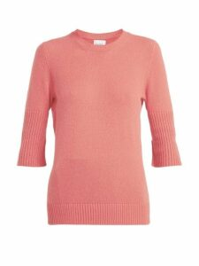 Barrie - Arran Cashmere Sweater - Womens - Pink