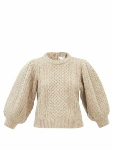 Barrie - Arran Pop Cashmere Sweater - Womens - Blue