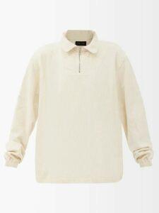 Rianna + Nina - Mika Greek Print Neoprene Coat - Womens - Pink Multi