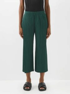 Vetements - Houndstooth Print Slip On Trainers - Womens - Blue